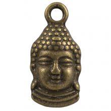 Breloque Buddha (15 x 7 mm) Bronze (25 pièces)