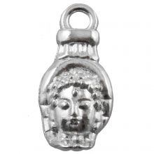 Breloque Buddha (18 x 8 mm) Argent Antique (25 pièces)