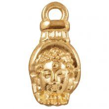 Breloque Buddha (18 x 8 mm) Or (25 pièces)