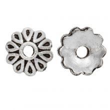 Calotte (8 x 2.5 mm) Argent Antique (25 pièces)