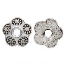 Calotte (9 x 3 mm) Argent Antique (30 pièces)