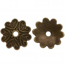Calotte (11 x 2 mm) Bronze (25 pièces)
