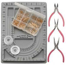 Kit de Fabrication de Bijoux or