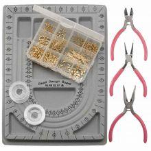 Kit de Fabrication de Bijoux (Acier Inoxydable) Or