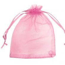 Sachet Organza (8 x 12 cm) Pink Red (25 pièces)