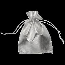 Sachets Métalliques (7 x 9 cm) Silver (20 pièces)