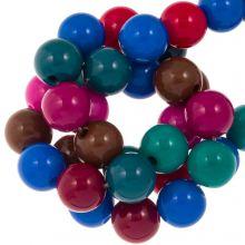 Mélange de Perles Acryliques (10 mm) Mix Color (95 pièces)