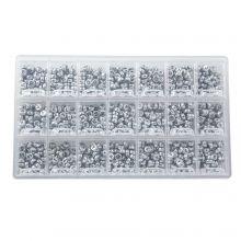 Perles Lettres Consonnes - 7 x 3.5 mm (50 perles par lettre)
