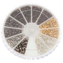 Protections pour Fil (5 x 4 x 1 mm) Mix Color (540 pièces)