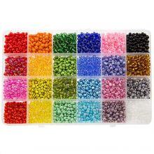 Mélange XL - Rocailles (4 mm / 24 x 12 grammes) 'Mix Color'