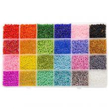 Mélange XL - Rocailles (2 mm / 24 x 12 grammes) 'Mix Color'