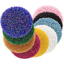 Mélange de Rocailles (2 mm / 9 x 50 grammes) 'Mix Color'