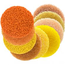 Mélange de Rocailles (2 mm / 9 x 50 grammes) 'Mix Color Yellow'