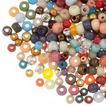 Mélange de Rocailles (2 - 3 - 4 mm) Mix Color (50 grammes)