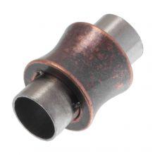 Fermoir Magnétique (Diamètre de l'intérieur 6 mm) Red Copper (1 pièce)