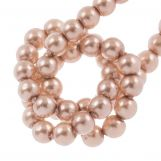 Perles en Verre Cirées DQ (2 mm) Pink Nude (150 pièces)