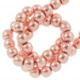 Perles en Verre Cirées DQ (2 mm) Antique Pink (150 pièces)