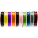 Fil Elastique (0.8 mm) Divers coloris (10 x 8 mètres)