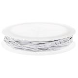 Elastique (1 mm) White (9,5 mètres)
