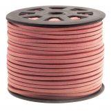 Fil imitation Daim (3 mm) Blush Pink (91 mètres)