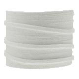 Fil imitation Daim (3 mm) White (5 mètres)