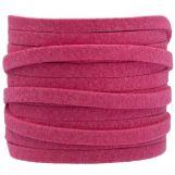 Fil imitation Daim (5 mm) Hot Pink (5 mètres)
