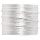 Fil de Satin (2 mm) White (15 mètres)