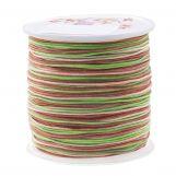 Fil en Nylon (1 mm) Mix Color - Mossy Brown (100 mètres)