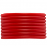 Fil Caoutchouc (4 mm) Bright Red (5 mètres)