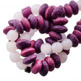 Mélange de Perles en Os (7 x 4 mm) Berry (40 pièces)