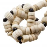 Mélange de Perles en Os (9 x 3 mm) Desert (85 pièces)