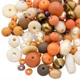 Mélange de perles - Diverses (tailles diverses) Sunrise (50 grammes)