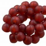 Perles En Résine Mat (8 - 9 mm) Berry (20 pièces)