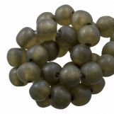 Perles En Résine Mat (8 - 9 mm) Moss Green (20 pièces)
