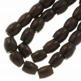 Perles en Céramique (11 x 10 mm) Chocolate (18 pièces)