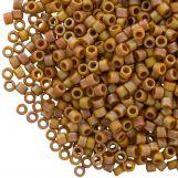 Miyuki Delica (11/0) Matted OPQ Glazed Honey Bee AB (10 grammes)