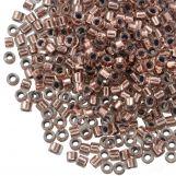 Miyuki Delica (11/0) Copper Lined Crystal (10 grammes)