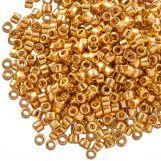 Miyuki Delica (11/0) 24kt Gold Plated (10 grammes)