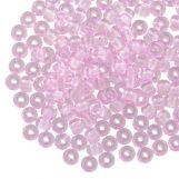 Rocailles DQ (3 mm) Pink (25g / 600 pièces)