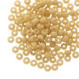 Rocailles DQ (4 mm) Golden Sand (25g / 350 pièces)