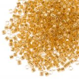 Miyuki Delica (11/0) 24kt Gold Lined Crystal (10 grammes)
