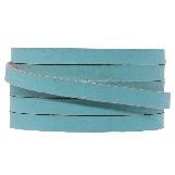 Cuir Plat DQ (5 x 2 mm) Sapphire Metallic (1 mètres)