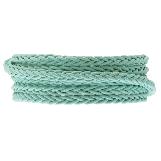 Cuir tressé DQ (4 mm) Mint Green (1 mètre)