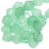 Perles Facettes Bicone (6 mm) Mint Green (50 pièces)