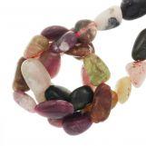 Perles Tourmaline (8 - 12 x 7 - 8 x 4 - 5 mm) 45 pièces