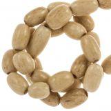 Perles en Os (9 x 5 mm) Brown (50 pièces)