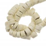 Perles Noix de Coco (4 - 5 mm) Blanched Almond (120 pièces)