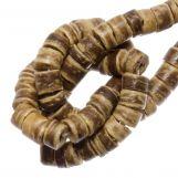Perles Noix de Coco (4 - 5 mm) Tiger (120 pièces)