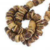 Perles Noix de Coco (4 - 5 mm) Tiger (110 pièces)