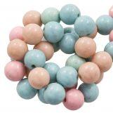 Perles En Acrylique (10 mm) Mix Color (45 pièces)